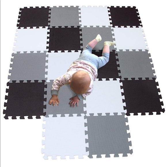Used baby play mat